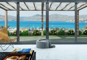 Sea view property with terrace and pool in Bodrum Yalikavak