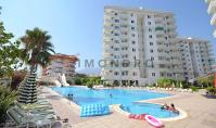 AL-375-1, Apartment (3 rooms, 1 bathroom) near the sea with pool and balcony in Alanya Tosmur
