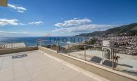 AL-166, Sea view real estate with terrace and pool in Alanya
