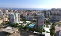 AL-312-3, New building real estate (2 rooms, 1 bathroom) with spa area and balcony in Alanya Avsallar