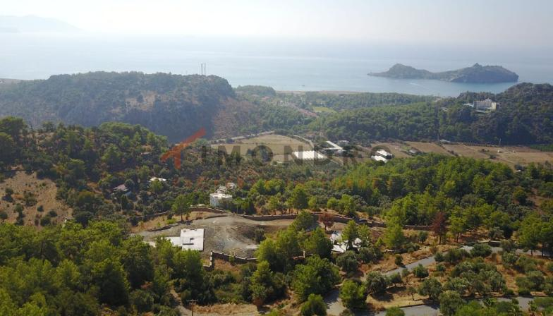 Sea view piece (13935 m²) in Sarigerme