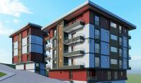 TR-176-2, New building apartment (3 rooms, 1 bathroom) with pool and balcony in Trabzon Ortahisar