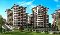 TR-192-2, Sea view real estate (5 rooms, 2 bathrooms) with balcony and pool in Trabzon Akcaabat
