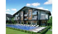 FE-304, Distant view real estate with balcony and pool in Fethiye