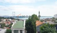 IS-615, Sea view apartment with balcony and underground parking space in Istanbul Besiktas
