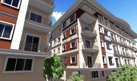 IS-642, Property with balcony and underground parking space in Istanbul Eyup