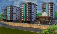 TR-208, Sea view property (4 rooms, 3 bathrooms) with balcony and pool in Trabzon Ortahisar