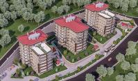 TR-209, Sea view property (4 rooms, 3 bathrooms) with balcony and pool in Trabzon Ortahisar