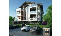 FE-348, Distant view property with balcony and heated floor in Fethiye