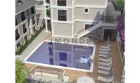 FE-362, Mountain panorama real estate with pool and balcony in Fethiye