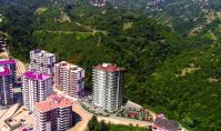 TR-218-2, Brand-new property (4 rooms, 2 bathrooms) with balcony and pool in Trabzon Yomra