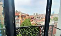 IS-883, Sea view real estate with balcony and open kitchen in Istanbul Besiktas