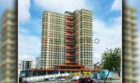 IS-1001-1, Sea view real estate (2 rooms, 1 bathroom) with spa area and balcony in Istanbul Esenyurt