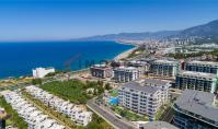 AL-605-5, Real estate (2 rooms, 1 bathroom) near the sea with view on the mountains and spa area in Alanya Kargicak
